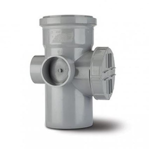 Bence sa343g grey access boss pipe 82mm for 82mm soil pipe